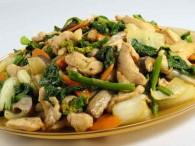 Chicken Stir Fry Bok Choi